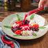 Ресторан Кусочки - фотография 8 - Свекольник с кальмарами и мятой