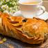 Ресторан Главпирог - фотография 9 - Рулет с медом и маком