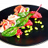 Ресторан Де Марко - фотография 3 - Свекольное ризотто Procciutto di parma