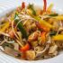 Ресторан China Club - фотография 8 - Рисовая лапша с кальмарами, гребешками, креветками и шпинатом
