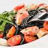 Ресторан Вителло - фотография 5 - Черные спагетти с камчатским крабом, ресторан Вителло, г. Балашиха
