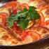 Ресторан Saperavi Café - фотография 22 - сыр сулгуни жаренный с помидорами, мятой и зеленой аджикой (270 руб.)