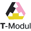 Логотип - Выставочный зал T-Modul