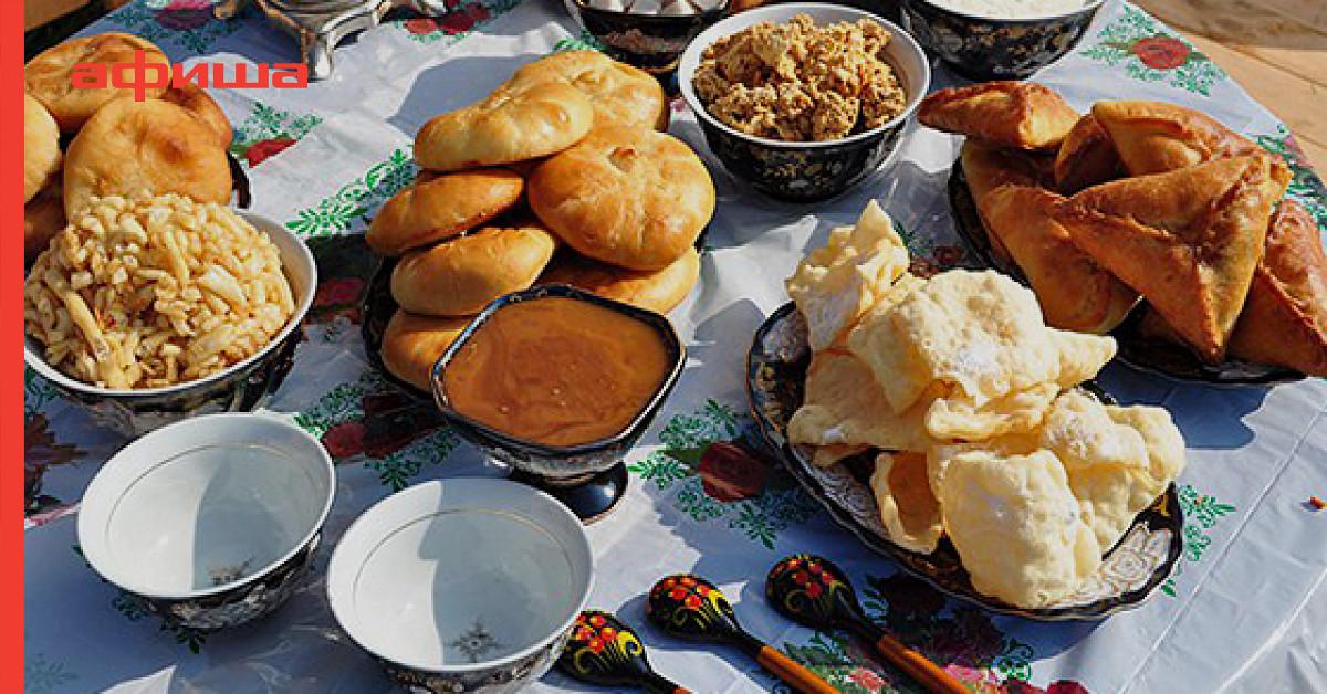татарская кухня рецепты с фото