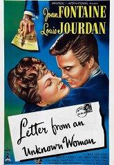 Постер Письмо незнакомки