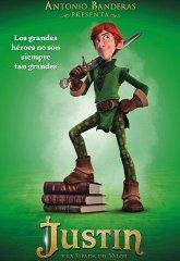 Постер Джастин и рыцари доблести