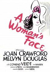 Постер Лицо женщины