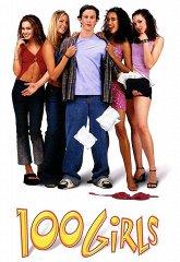 Постер 100 девчонок и одна в лифте