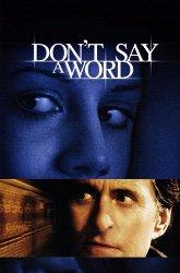 Постер Не говори ни слова
