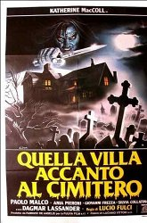 Постер Дом на краю кладбища