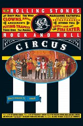 Постер The Rolling Stones Rock and Roll Circus