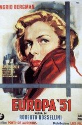 Постер Европа'51