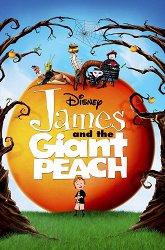 Постер Джеймс и гигантский персик