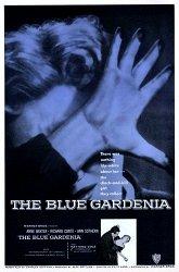 Постер Синяя гардения