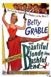 Постер Прекрасная блондинка из Бэшфул Бенд
