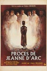 Постер Процесс Жанны д'Арк
