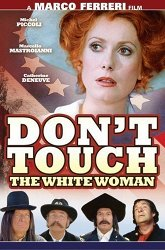 Постер Не прикасайся к белой женщине