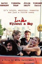 Постер Лос-Анджелес без карты