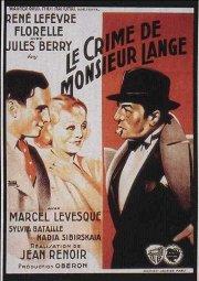 Постер Преступление господина Ланжа