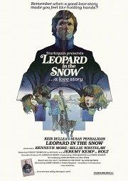 Постер Леопард на снегу
