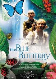 Постер Голубая бабочка