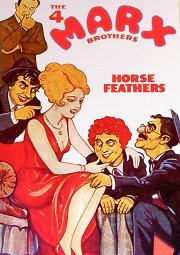 Постер Лошадиные перья