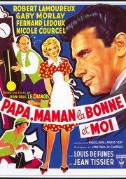 Постер Папа, мама, служанка и я