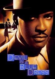 Постер Дьявол в голубом платье
