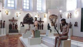 Экспозиция пермской деревянной скульптуры