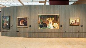 Выставку Эдварда Мунка в Москве посетили более 200 тысяч человек
