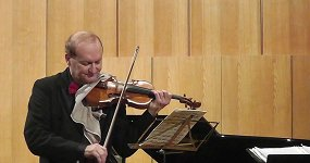Александр Чернов (скрипка), Александр Блок (фортепиано)
