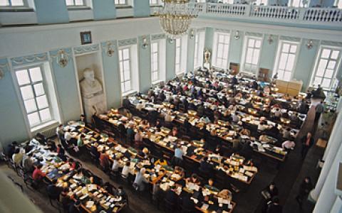 Литературное казино, экскурсия по книгохранилищу, презентация библиотеки Шнеерсона и другие события