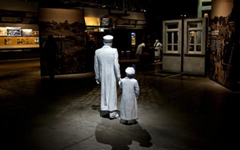 4D-кинотеатр, экспозиция с айпэдами и интерактивные инсталляции в Бахметьевском гараже