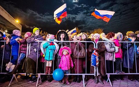 «Все более или менее помешались»: российские наблюдатели о присоединении Крыма
