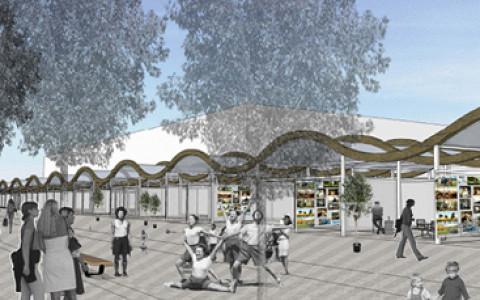 Архитекторы Асс и Шапиро перестроят павильоны художников