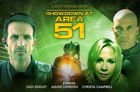 Чужой против чужого (Showdown at Area 51)