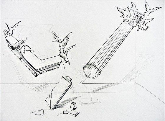 Эскизы инсталляций