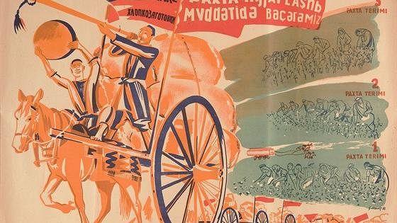 Плакат Советского Востока. 1918–1940