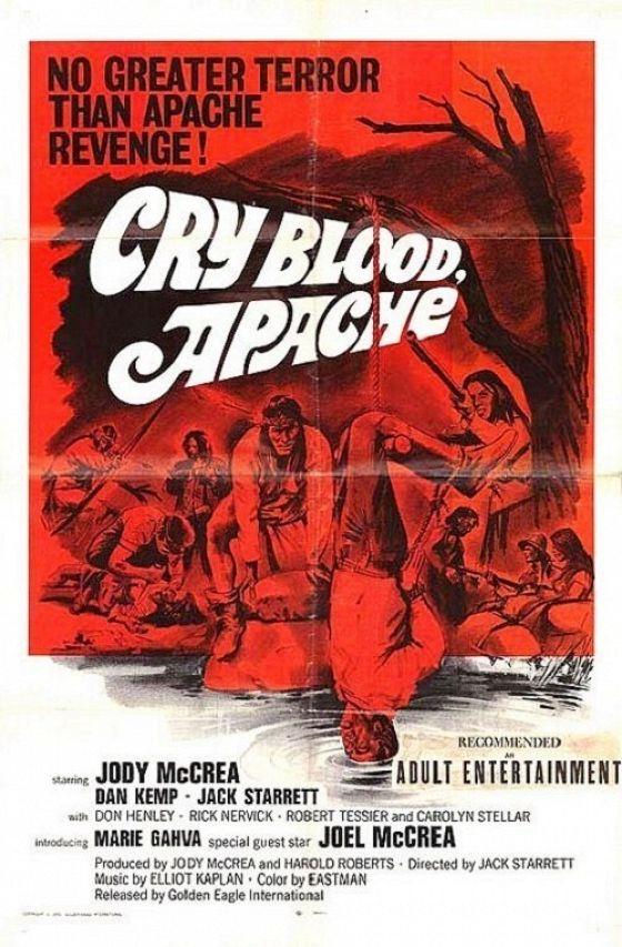 Кровавые слезы апачей (Cry Blood, Apache)