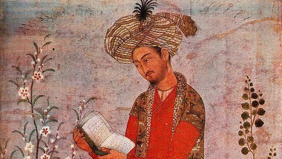 Бабур-Наме. Миниатюра из собрания музея Востока