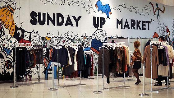 Sunday Up Market Pop-Up Store