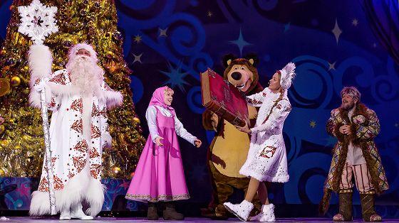 Маша и Медведь + Три богатыря