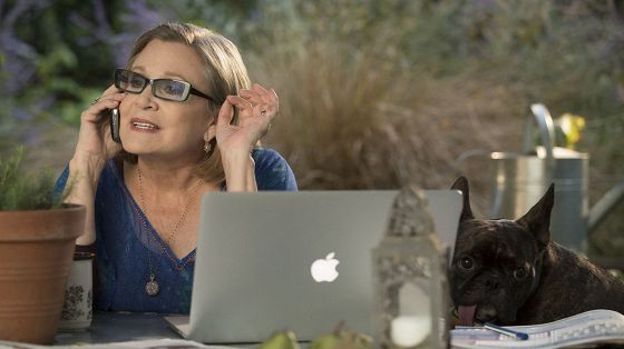 Кэрри Фишер (Carrie Fisher)