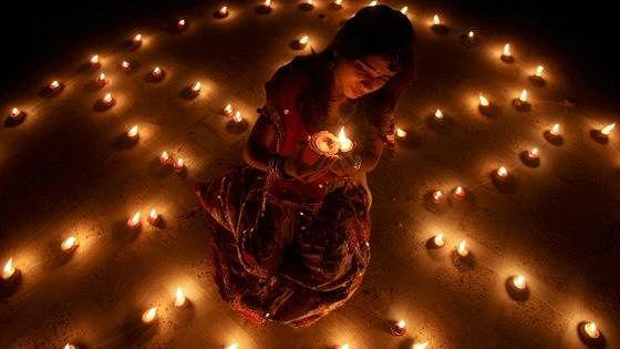 Древний праздник огня «Дивали»