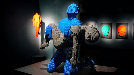 Натан Савайя. The Art of the Brick/Искусство «Лего»