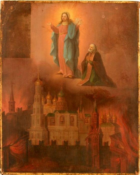 Русская икона в канун войны 1812 года: В воспоминание избавления от нашествия галлов…