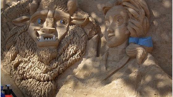 XI Фестиваль песчаных скульптур «Мульт-остров»