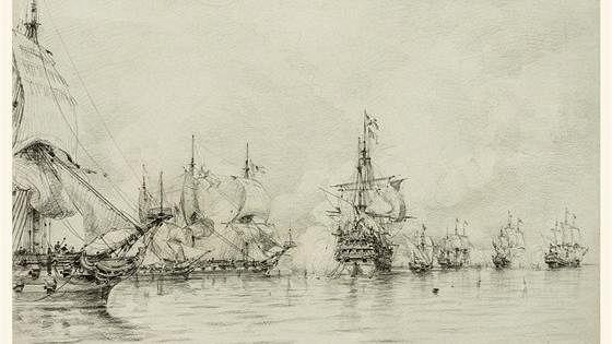 Рисунки и акварели Алексея Боголюбова