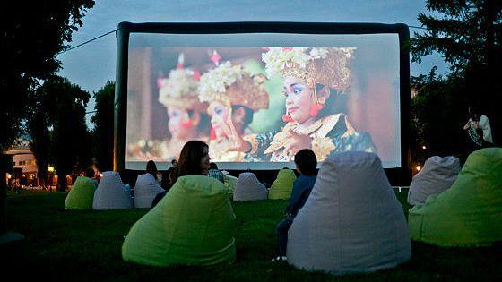 Кинотеатр в саду «Эрмитаж»