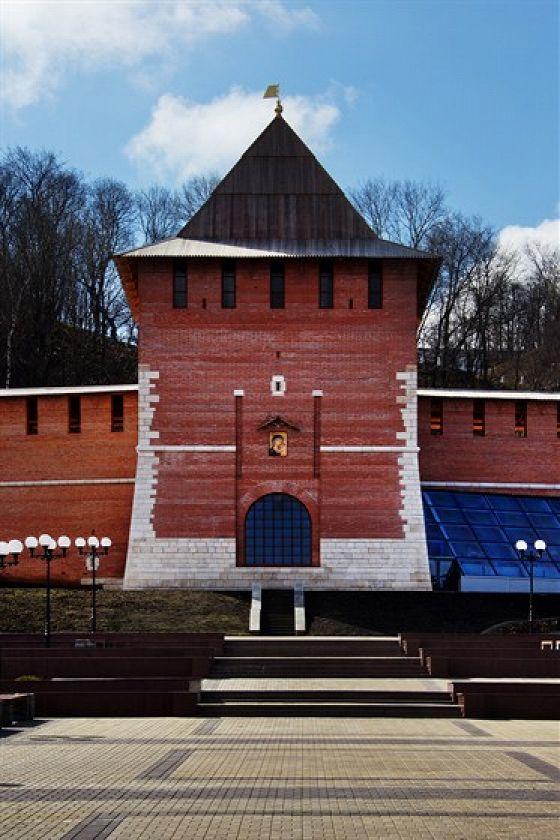 Зачатская башня. Нижегородский кремль